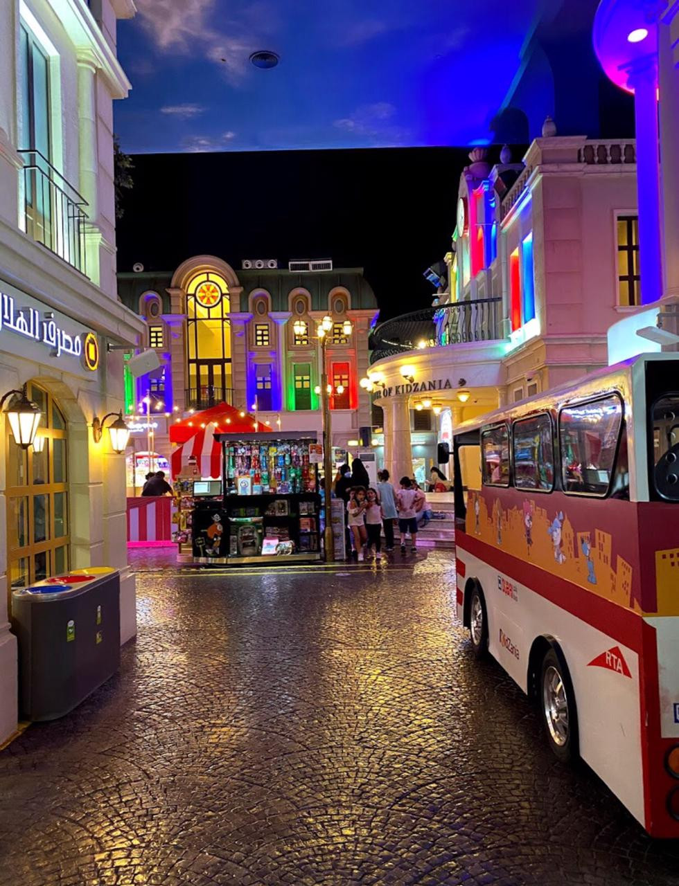 Hire a driver to visit Kidzania