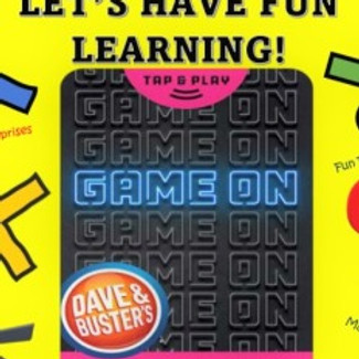 Let's Have Fun Playing & Learning!