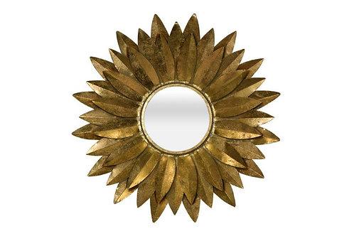 Dahlia Mirror Gold/silver