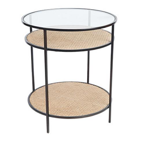 Flint side table natural