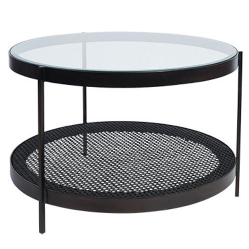 Flint coffee table Black