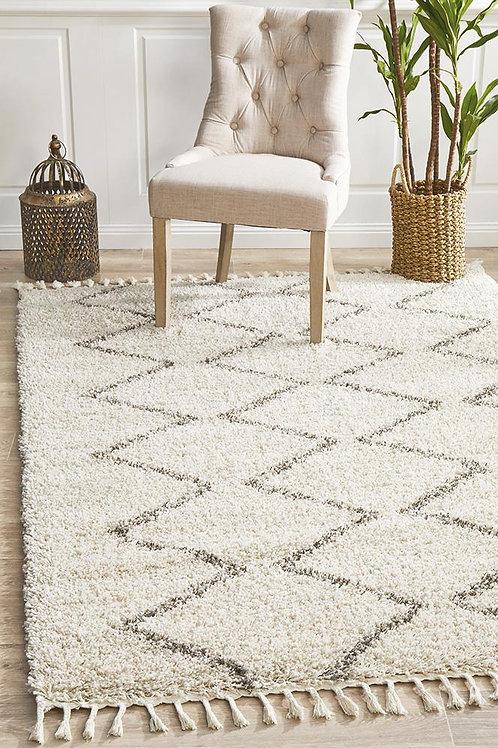 Saffron Plush Floor Rug Natural by Rug Culture