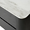 Thumbnail: Clio Black bedside with ceramic marble top