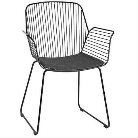 ALTO REBELLO ARMCHAIR BLACK