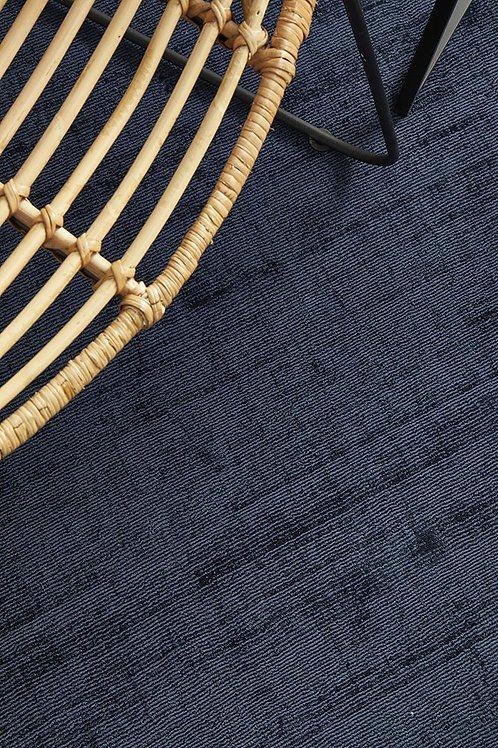 Bliss Floor Rug Colour Denim 225cm x 155cm