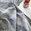 Thumbnail: Oxford Pure French Linen Yarn Dyed Duvet Cover Quilt Cover Set - Grey