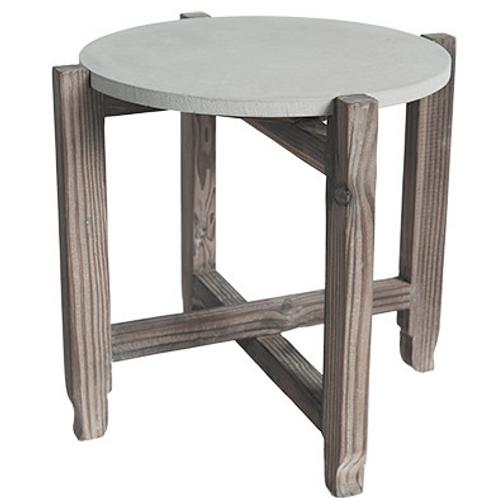 Grayson concrete side table
