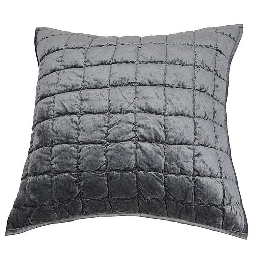 AUDREY SILVER PILLOW COVER