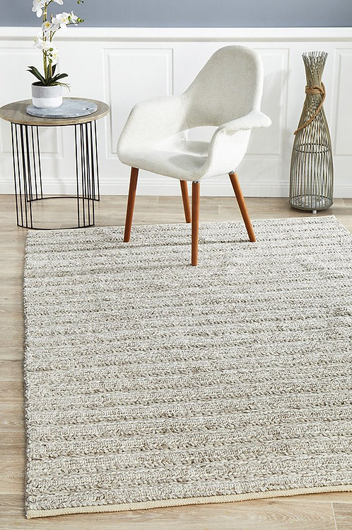 Harvest Plush Floor Rug Colour Natural by Rug Culture