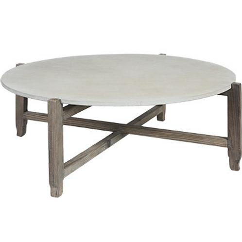 Grayson concrete coffee table