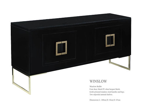 Winslow Buffet Black