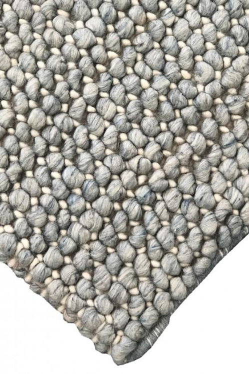 Bayliss Clover Floor Rug Colour Arctic Blue
