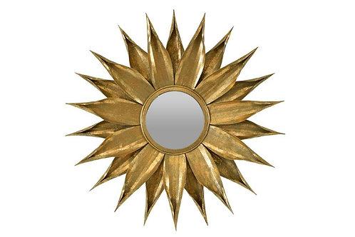 Zinnia Mirror Gold/ silver