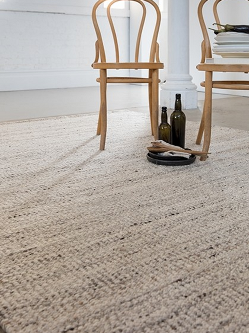 Bungalow Rug - Oyster Shell