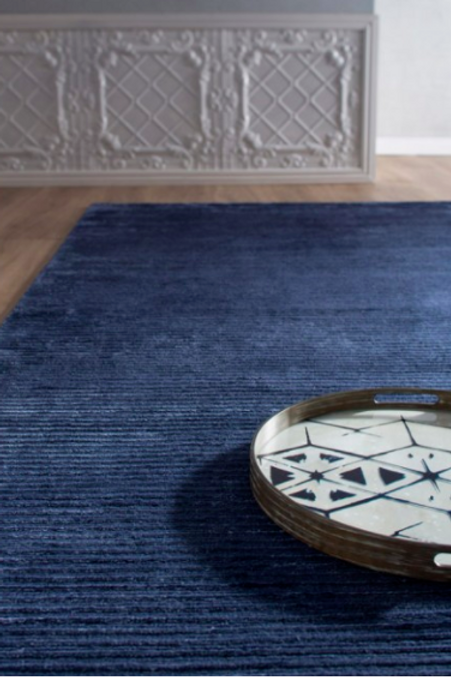 Marco - Navy Blue, Bayliss Rugs