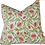Thumbnail: Block Print Feather Filled Cushion 50x50cm - Fruit Garden