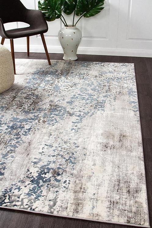 Kendra Floor Rug Colour Grey by Rug Culture