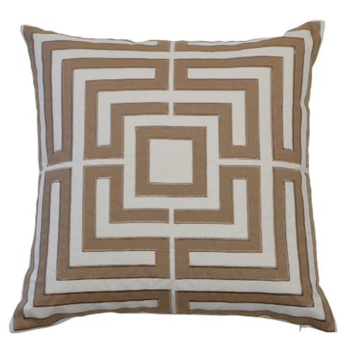 ACAPULCO KHAKI CUSHION COVER
