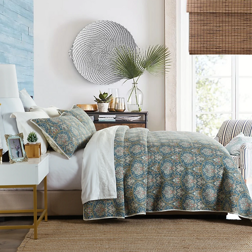 Molly 100% Cotton Coverlet Queen Bedspread Set