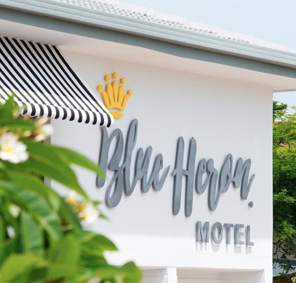 Blue Heron Motel, Mermaid Beach.