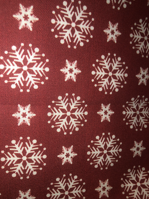 Snowflakes (red)