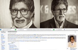 Amitabh Bacchan work spotted