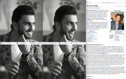 Ranveer Singh work 2 spotted