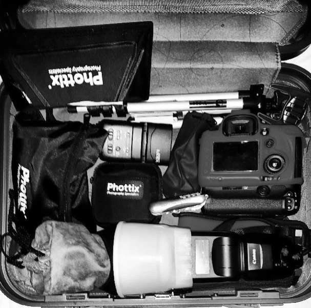 Getting ready for Landscape shoot