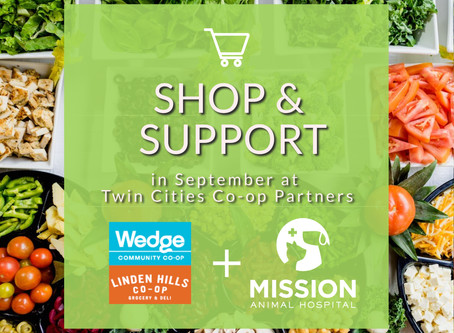 Linden Hills & The Wedge Co-Ops Support Mission