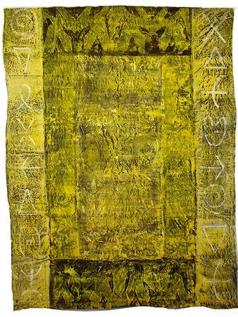 Signes en jaune et noir109cm 141cm.JPG