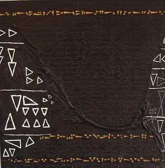 Ecriture cuneiforme 70 x70cm.JPG