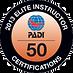 PADI Elite Instructor_50_2013