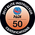 PADI Elite Instructor_50_2017