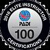 PADI Elite Instructor_100_2016