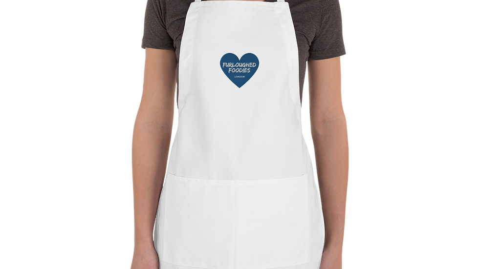 Furloughed Foodies Embroidered Apron
