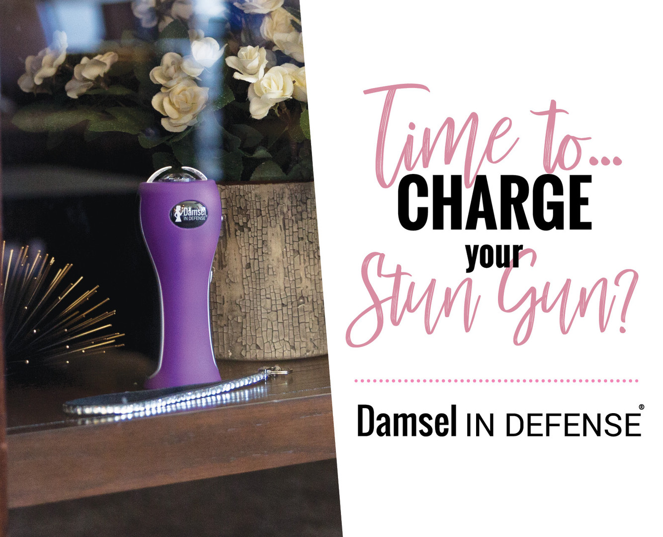 2018 Spring & Summer Charge Your Stun GuDamsel in Defense - Jennifer Hilt