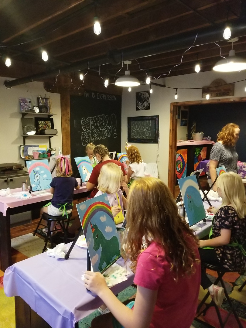 The Painted Tiger Art Studio