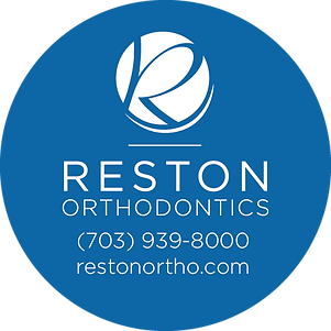Reston Orthodontics_Sticker_Blue copy.pn