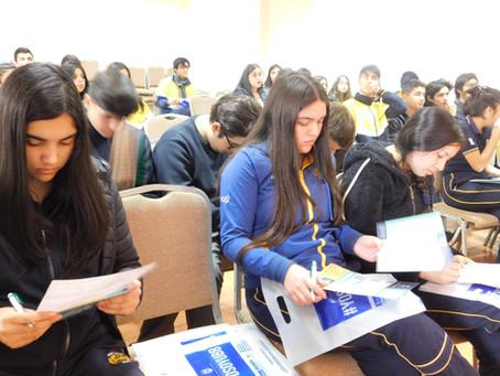 Visita y charla Universidad del Bío-Bío