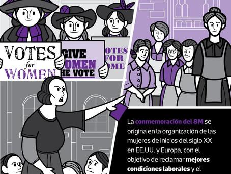 08 de marzo: Día Internacional de la Mujer