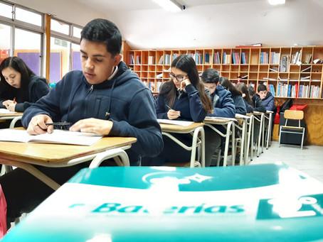 Aplicación de Batería de Medición Psicoeducativa a Estudiantes de 2° Medio