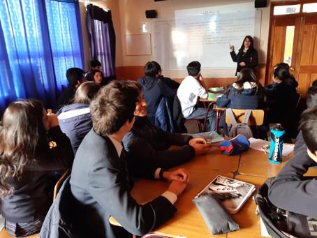 """Programa PPEE de Senda realiza taller de """"Conceptos básicos sobre drogas y alcohol"""""""