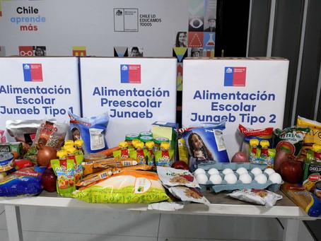 7. Entrega Canastas de Alimentación JUNAEB
