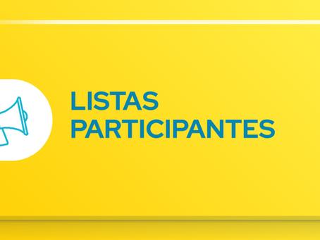Propuestas Listas Elecciones CGE