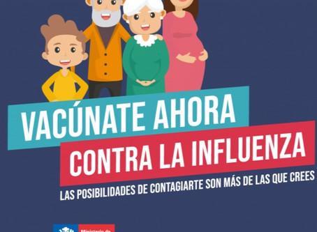 3. Vacunación contra la Influenza