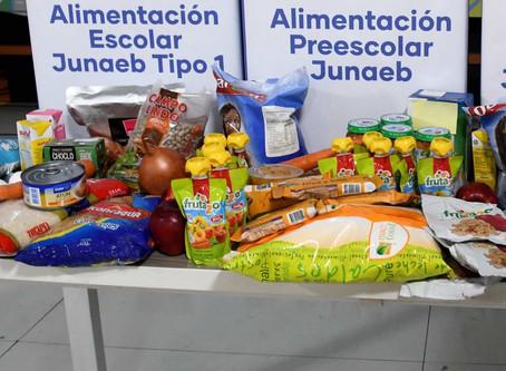 13. 3era. Entrega de Canastas JUNAEB Beneficiarios 2020