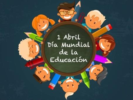 01 de abril: Día Mundial de la Educación