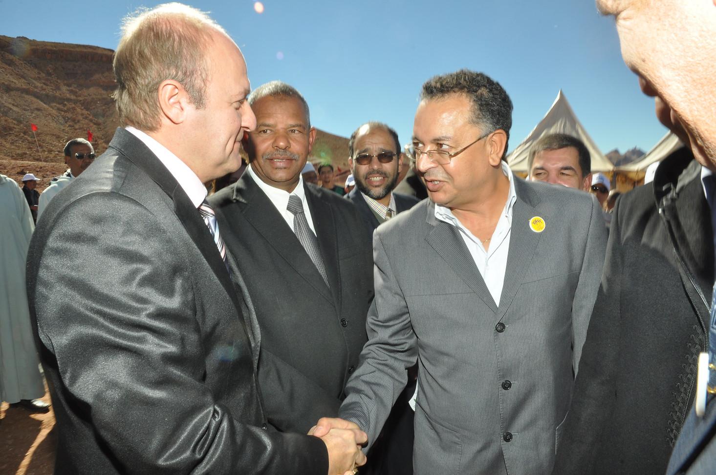 Inauguration officiele Maroc