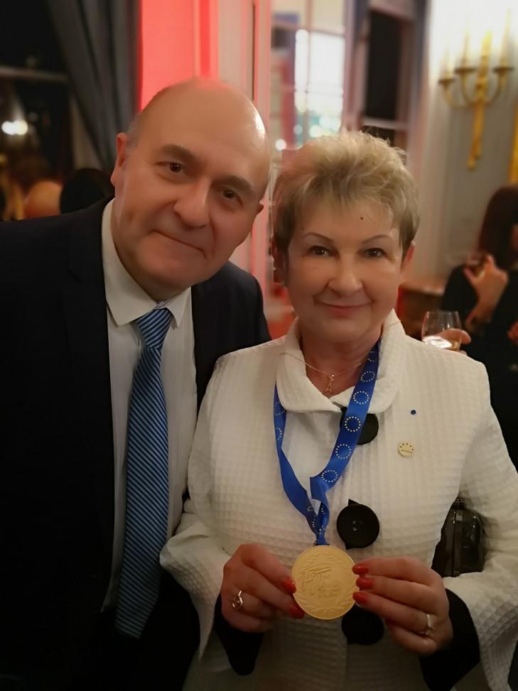Médaille d'or pour l'AGGH