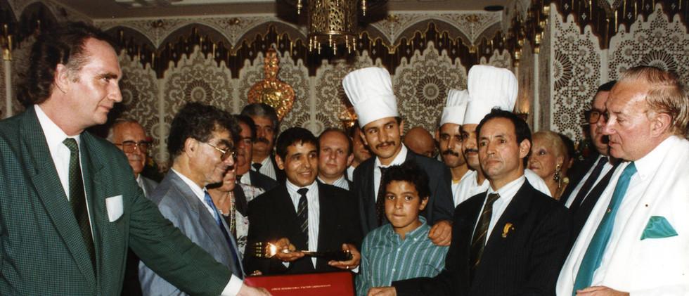 Fourchette d'Or le palais d'agadir argen